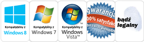 Program działa na Win8, win7, Vista
