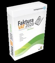 Program do wystawiania faktur - FAKTURA VAT 2020 STANDARD