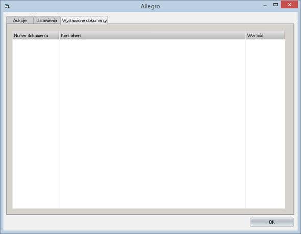 Inne - Sklepy - Allegro - System do fakturowania