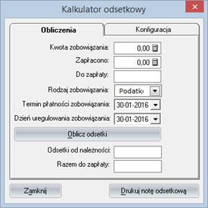 Inne - Inne - Kalkulator odsetkowy - Program do pisania faktur