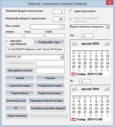 Podstawowe - Konfiguracja programu - Program do pisania faktur