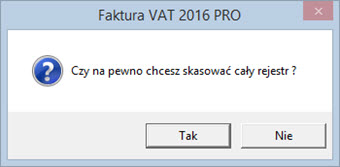 Płatności - Rejestr przelewów - Program do faktur