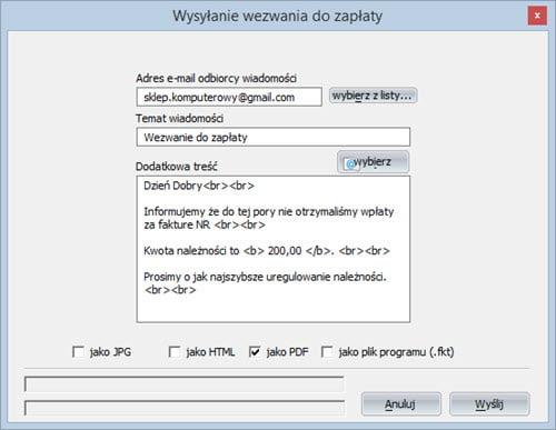 Płatności - Termin płatności - Program wystawianie faktur