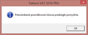 Aktywacja programu - Program do fv