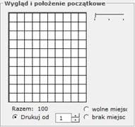 Kody kreskowe - Program faktury