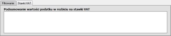 Drukowanie ewidencji VAT - Program do faktur dla małych firm