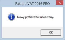 Edycja danych podatnika - System do fakturowania
