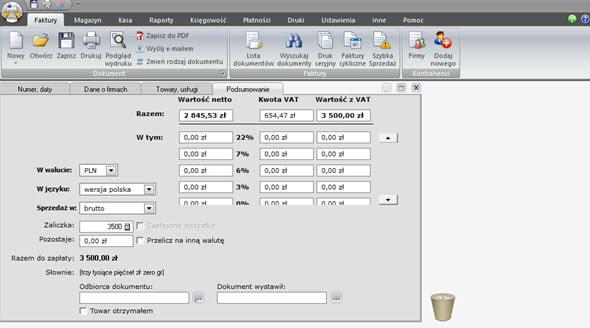 Tworzenie faktury zaliczkowej i końcowej - Najlepszy program do faktur